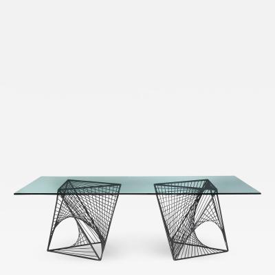 UNIQUE MODERNIST DINING TABLE