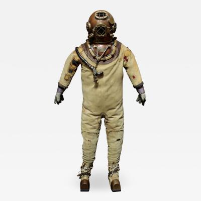 USN Morse Mark V Dive Helmet Suit and Gear