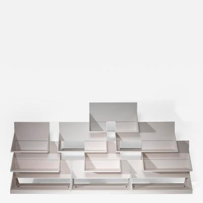 Ugo La Pietra Uno sullaltro Stacking Bookcase by Ugo La Pietra for Poggi