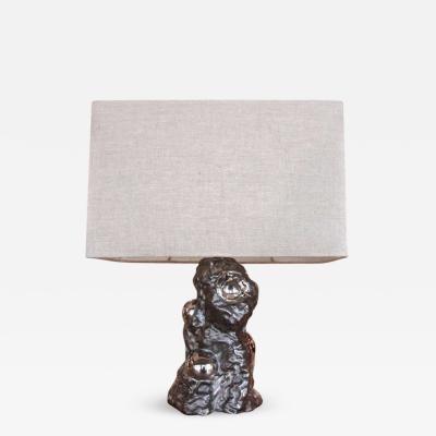 Ugo Zaccagnini Table Sculpture Lamp By Ugo Zaccagnini 1950