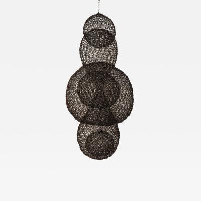Ulrikk Dufosse Organic Woven Mesh Wire Sculpture by Ulrikk Dufosse France 2017