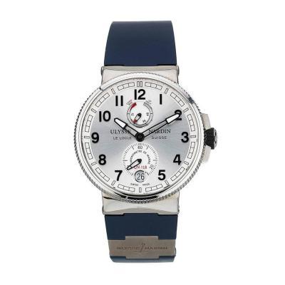 Ulysse Nardin Ulysse Nardin Stainless Steel Marine Chronometer Automatic Wristwatch