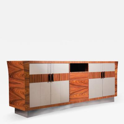 Umberto Asnago Sideboard with Drawers by Umberto Asnago for Medea Mobilidea