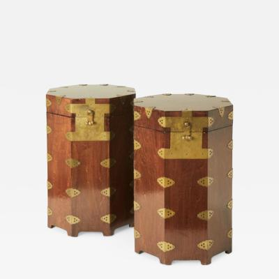 Unique Chinoiserie Box Tables