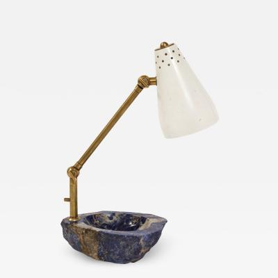 Unique Lapis Desk Lamp by Fedele Papagni