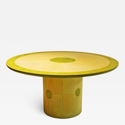 Unique Round Dining Center Table by Randy Shull