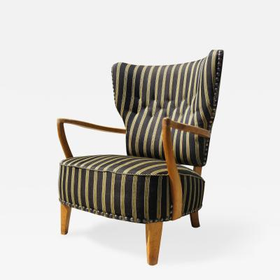 Unique Scandinavian Highback Lounge Chair