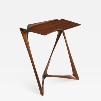 Uniquely designed side table Designed by Newman Krasnogorov for Olicore Studio