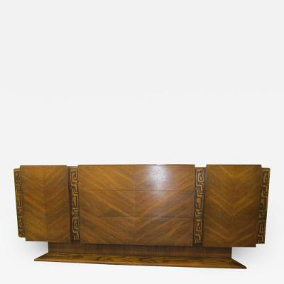 United Furniture Company Paul Evans style Walnut Sculptural Credenza Mid century Modern