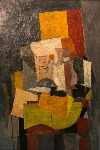 Unknown Cubist Modern Painting