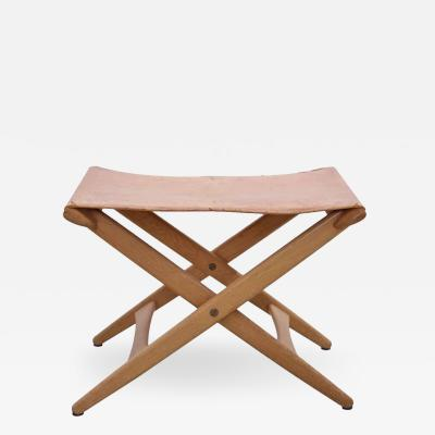 Uno Osten Kristiansson Folding Stool by Des Uno and sten Kristiansson for Luxus Vittsj