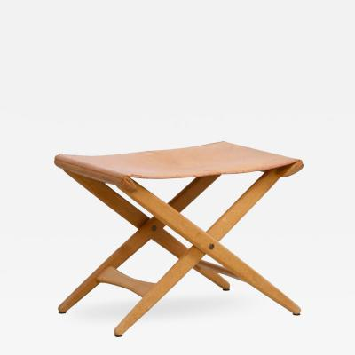 Uno Osten Kristiansson Folding Stool by Uno and sten Kristiansson for Luxus Vittsj