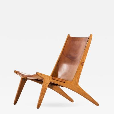 Uno Osten Kristiansson Hunting Easy Chair Produced by Luxus