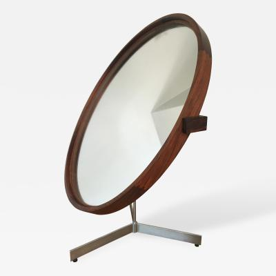 Uno Osten Kristiansson Rosewood Mirror by Uno and Otto Kristiansson 1958