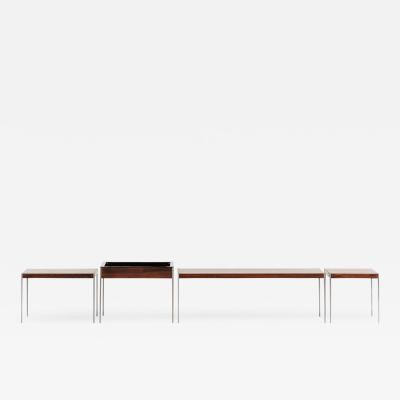 Uno Osten Kristiansson Side Tables Plant Stand Produced by Luxus