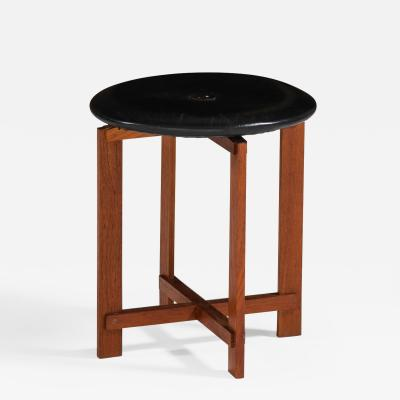 Uno Osten Kristiansson Stool Produced by Luxus