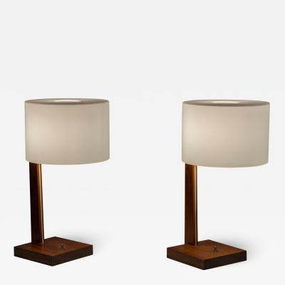 Uno Osten Kristiansson Uno And Osten Kristiansson Rosewood Table Lamps