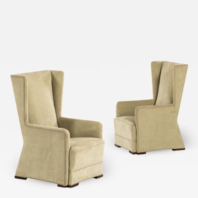 Uno hren Easy Chairs Produced by Svenskt Tenn