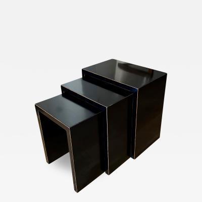 Uno hren Exceptional Trio of Nesting Tables by Uno Ahren
