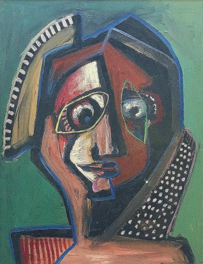 Untitled Head of Woman