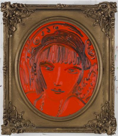 Untitled Red Lady