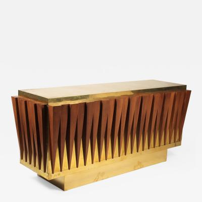 Unusual CUSTOM MADE CREDENZA FOR A HOTEL IN ITALY