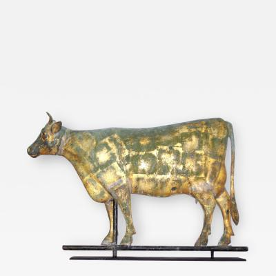 Unusual Form Cow Weathervane