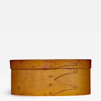Unusual Shaker Bentwood Oval Storage Box