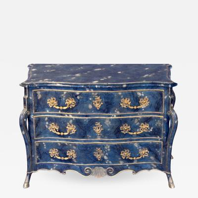 Unusual Southern French Commode