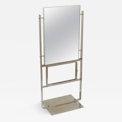 Unusual and Large Double Sided Deco Display Mirror