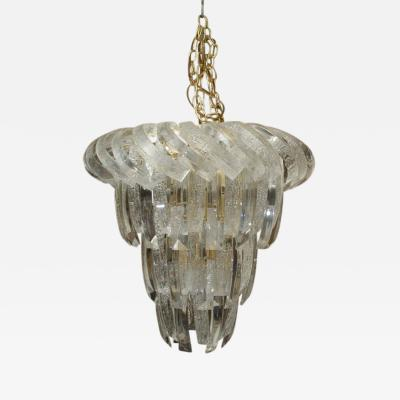 Unusual and Rare Mid Century Lucite Chandelier