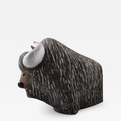 Upsala Ekeby Buffalo number 6049