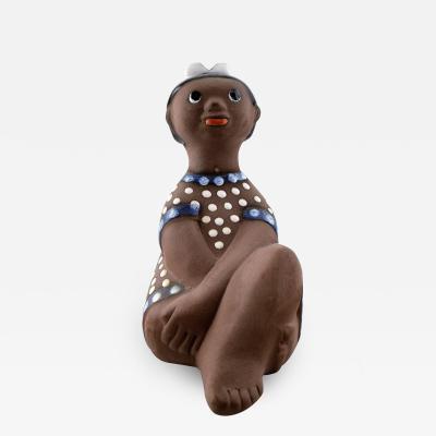 Upsala Ekeby Girl figure number 7034