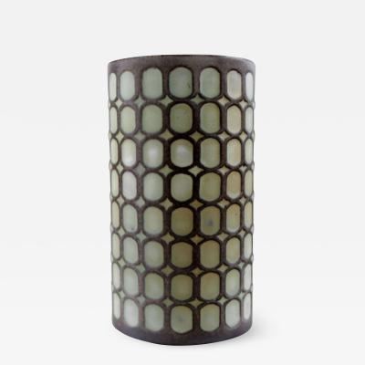 Upsala Ekeby Number 4027 ceramic vase