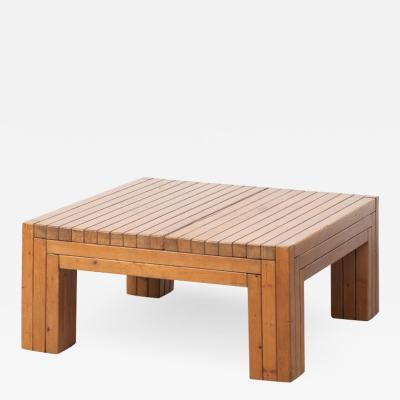 Urano Palma Urano Palma square coffee table Italy 1980