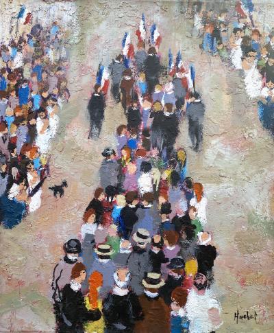 Urbain Huchet Bastille Day
