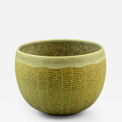Uwe Lerch Modernist Ceramic Bowl by Uwe Lerch Own Studio Germany