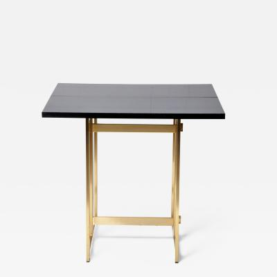 VINTAGE FRENCH FOLDING CONSOLE TABLE