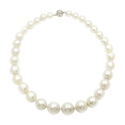 VINTAGE SOUTH SEA PEARL NECKLACE 11MM TO 16MM