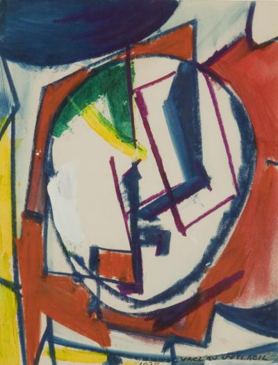 Vaclav Vytlacil Abstract Composition