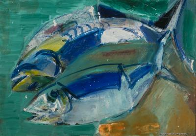 Vaclav Vytlacil Blue Fish
