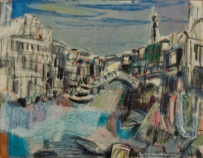 Vaclav Vytlacil Bridge of Sighs Venice