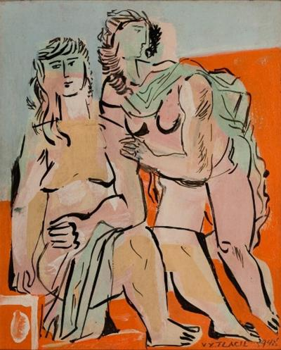 Vaclav Vytlacil Classical Nudes