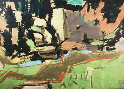 Vaclav Vytlacil Modernist Landscape