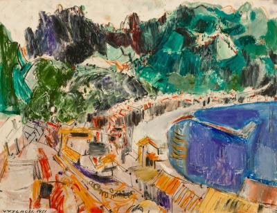 Vaclav Vytlacil Positano Coast