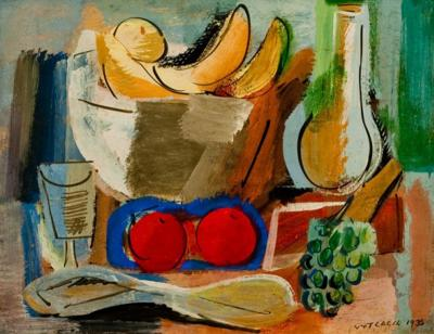 Vaclav Vytlacil Still Life with Bananas