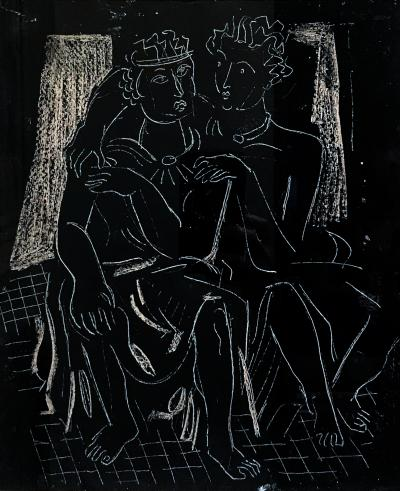 Vaclav Vytlacil The Lovers