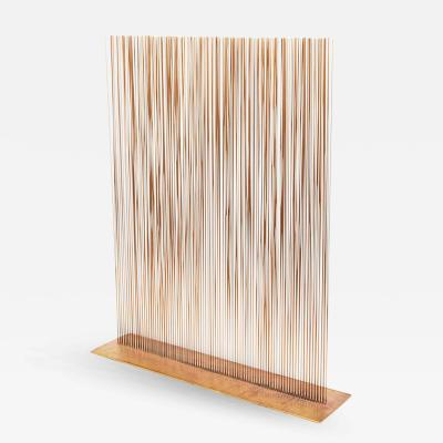 Val Bertoia Exceptional Copper Sonambient Sculpture by Val Bertoia USA
