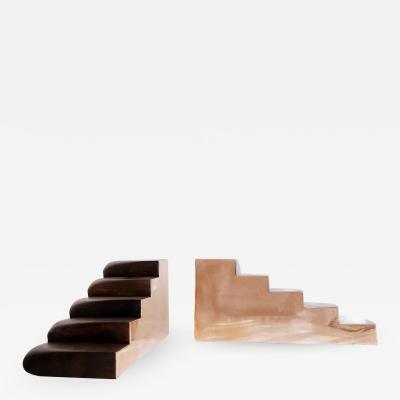 Valentin Loellmann Copper pair of stairs