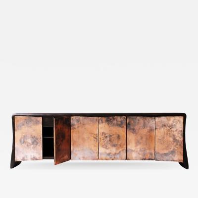 Valentin Loellmann Copper sideboard